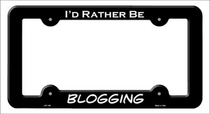 Blogging Wholesale Novelty Metal License Plate Frame LPF-186