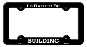 Building Wholesale Novelty Metal License Plate Frame LPF-188