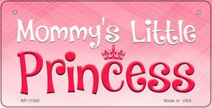 Mommys Little Princess Novelty Wholesale Metal Bicycle License Plate