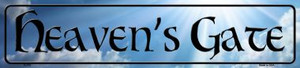 Heavens Gate Wholesale Novelty Metal Small Street Signs