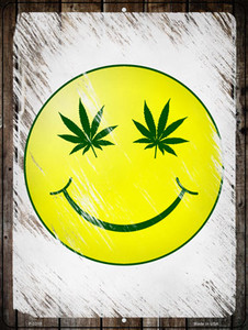 High Smiley Wholesale Novelty Metal Parking Sign P-3310