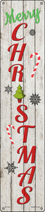 Merry Christmas Wholesale Novelty Metal Street Sign ST-1632