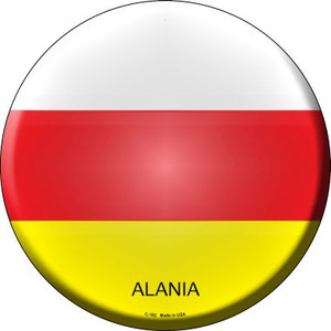 Alania Country Wholesale Novelty Metal Circular Sign