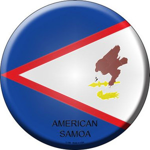 American Samoa Country Wholesale Novelty Metal Circular Sign