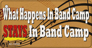 What Happens In Band Camp Wholesale Novelty Metal Key Chain Tag KC-13743