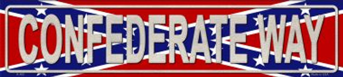 Confederate Way Wholesale Metal Novelty Street Sign