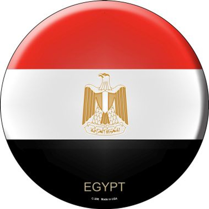 Egypt Country Wholesale Novelty Metal Circular Sign