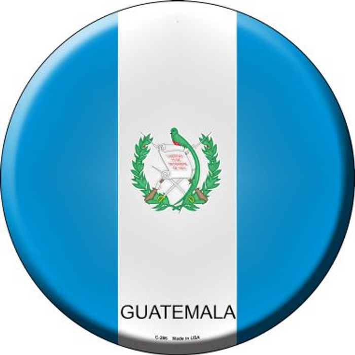 Guatemala Country Wholesale Novelty Metal Circular Sign