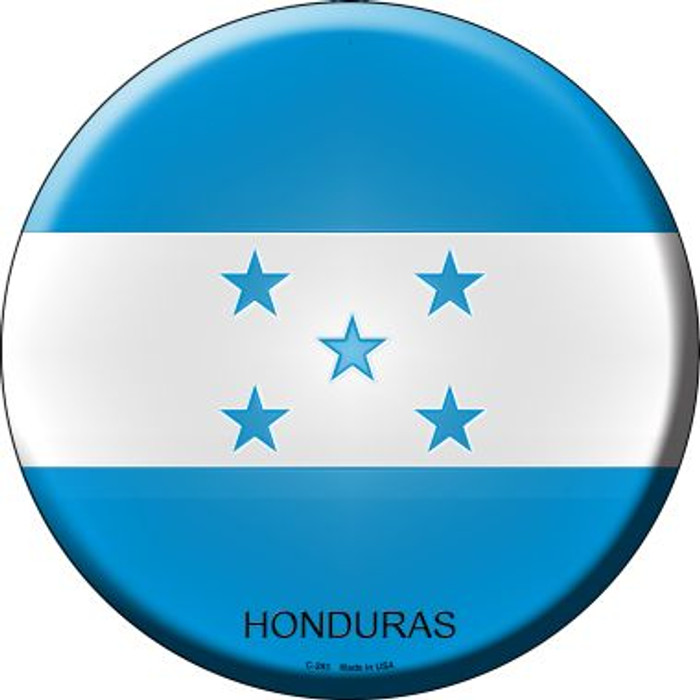 Honduras Country Wholesale Novelty Metal Circular Sign