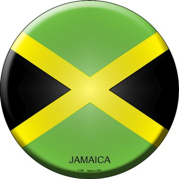 Jamaica Country Wholesale Novelty Metal Circular Sign