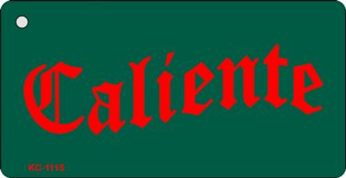 Caliente Mini License Plate Wholesale Metal Key Chain