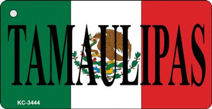Tamaulipas On Flag Mini License Plate Wholesale Metal Key Chain