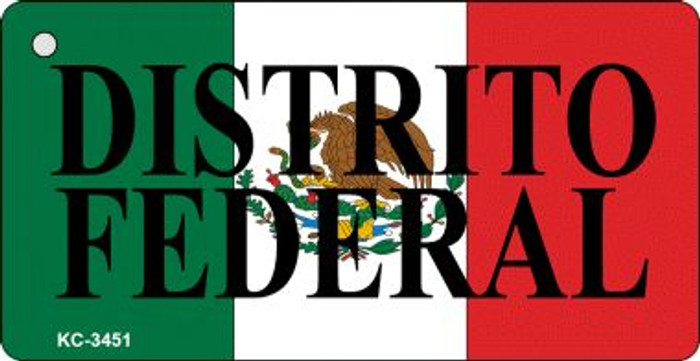 Distrito Federal On Flag Mini License Plate Wholesale Metal Key Chain