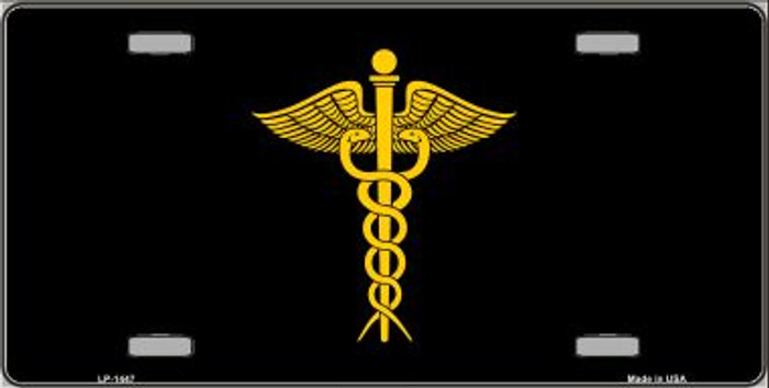 Caduceus Wholesale Metal Novelty License Plate