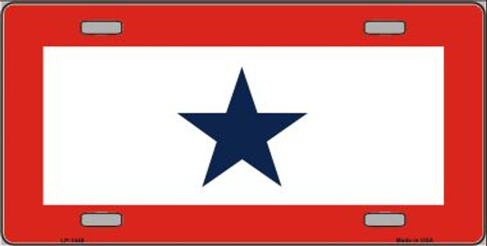 Blue Star One Wholesale Metal Novelty License Plate