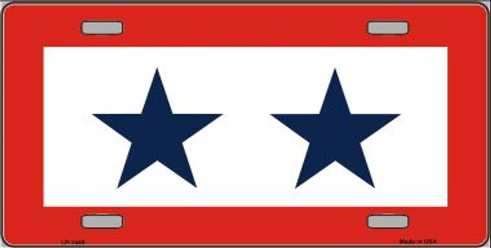 Blue Star Two Wholesale Metal Novelty License Plate