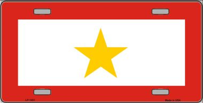 Gold Star Mother One Wholesale Metal Novelty License Plate