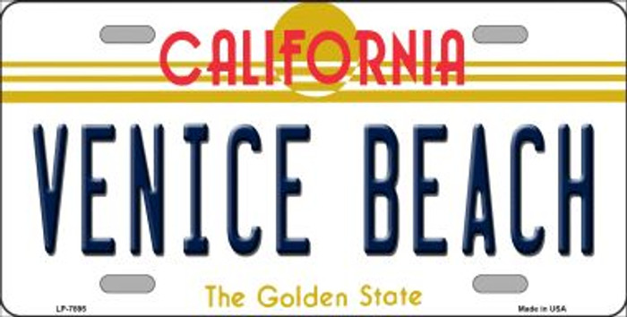 Venice Beach California Novelty Wholesale Metal License Plate