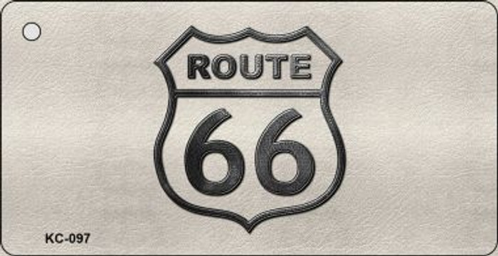 Route 66 Metal Novelty Key Chain
