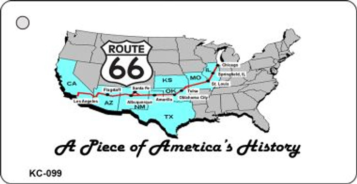 American History Route 66 Wholesale Novelty Key Chain
