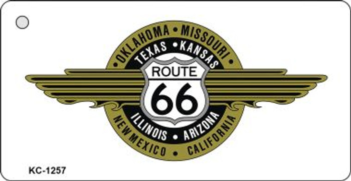 Route 66 Badge Wholesale Novelty Key Chain