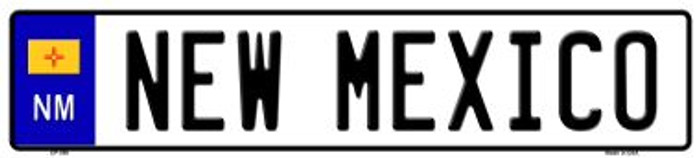 New Mexico Novelty Wholesale Metal European License Plate