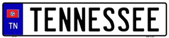 Tennessee Novelty Wholesale Metal European License Plate