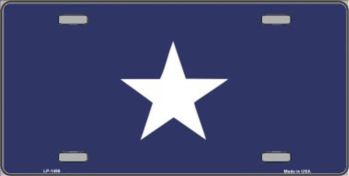 Bonnie Blue Flag Wholesale Metal Novelty License Plate LP-1496
