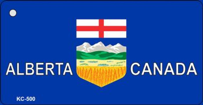 Alberta Canada Flag Wholesale Novelty Key Chain
