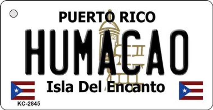 Humacao Puerto Rico Flag Wholesale Novelty Key Chain