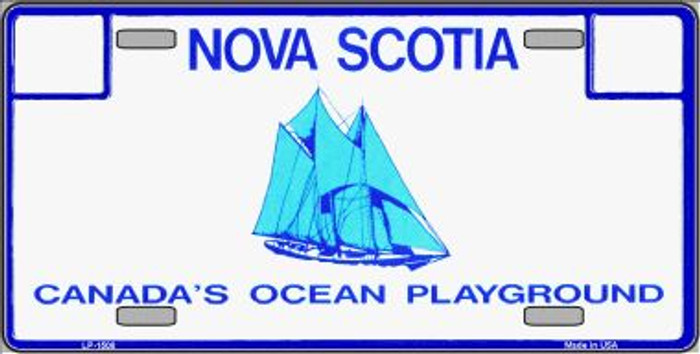 Nova Scotia Novelty Background Wholesale Metal License Plate LP-1508