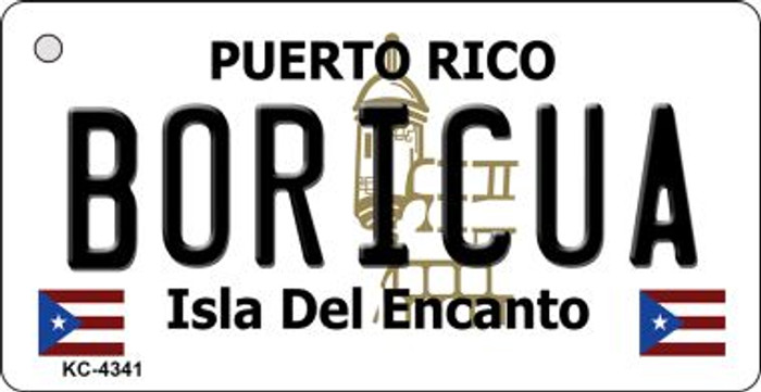 Boricua Puerto Rico Flag Wholesale Novelty Key Chain