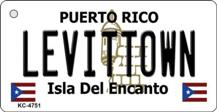 Levittown Puerto Rico Flag Wholesale Novelty Key Chain