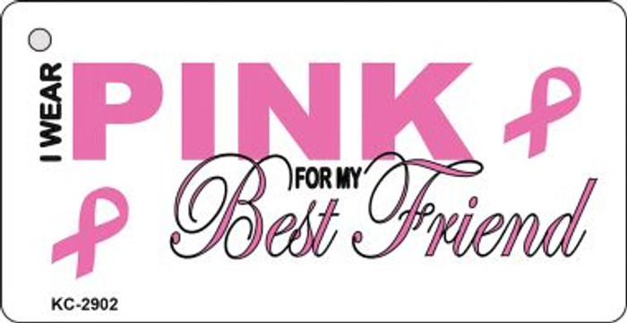 Pink For Best Friend Wholesale Novelty Key Chain