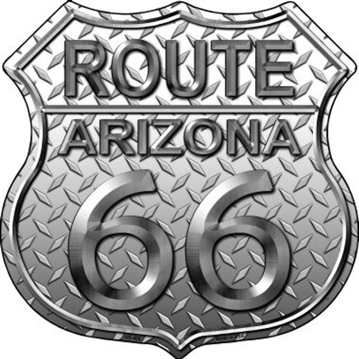 Route 66 Diamond Arizona Wholesale Metal Novelty Highway Shield