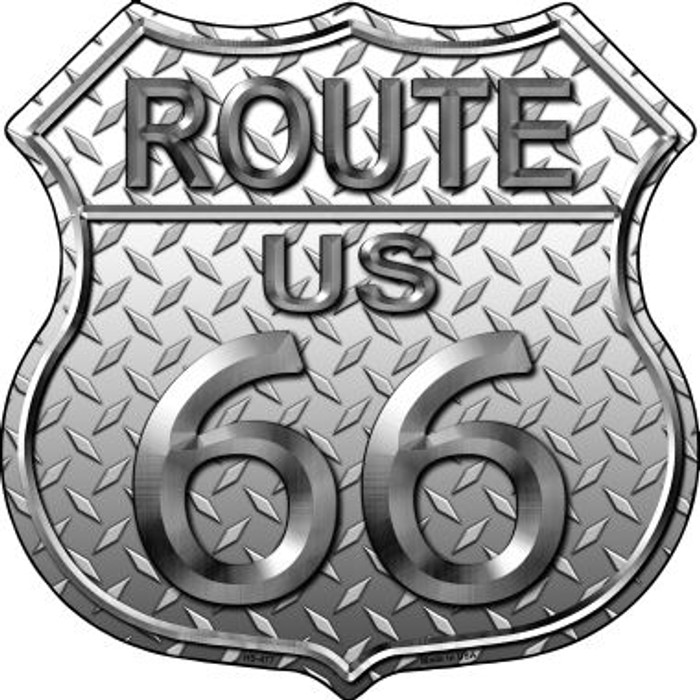 Route 66 Diamond Wholesale Metal Novelty Highway Shield