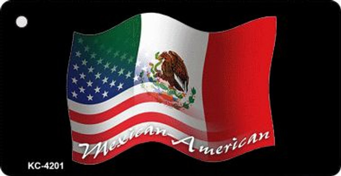 Mexico American Flag Wholesale Novelty Key Chain