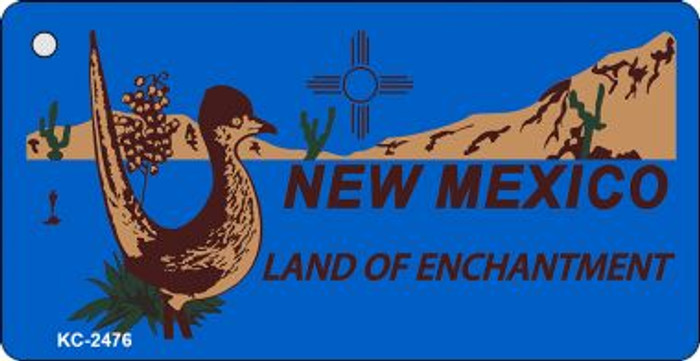 New Mexico Blue Wholesale Novelty Key Chain