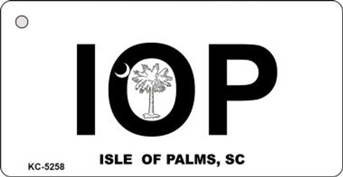 Isle Of Palms White Wholesale Novelty Key Chain