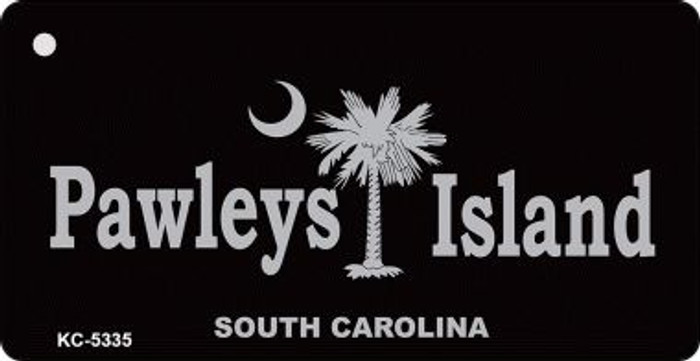 Pawleys Island Black Wholesale Novelty Key Chain