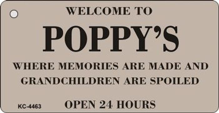 Welcome To Poppys Wholesale Novelty Key Chain