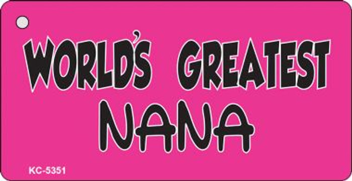 Worlds Greatest Nana Wholesale Novelty Key Chain