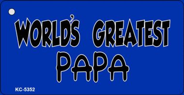 Worlds Greatest Papa Wholesale Novelty Key Chain