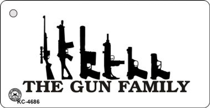 Gun Family Wholesale Novelty Key Chain