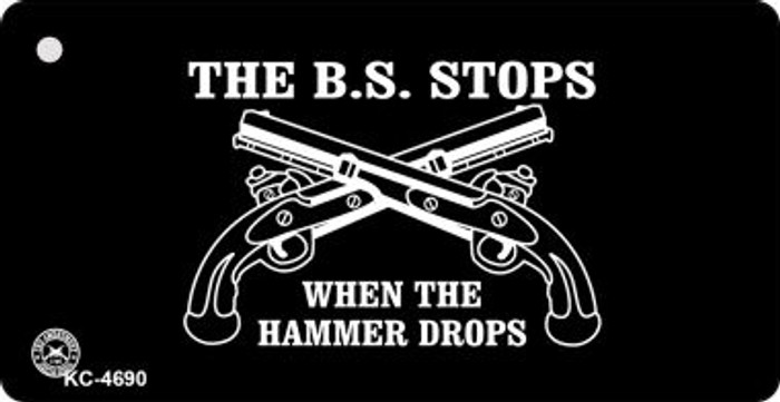 The BS Stops Wholesale Novelty Key Chain