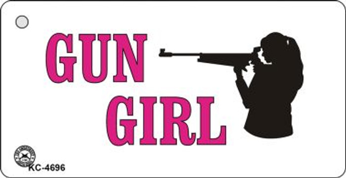 Gun Girl Wholesale Novelty Key Chain