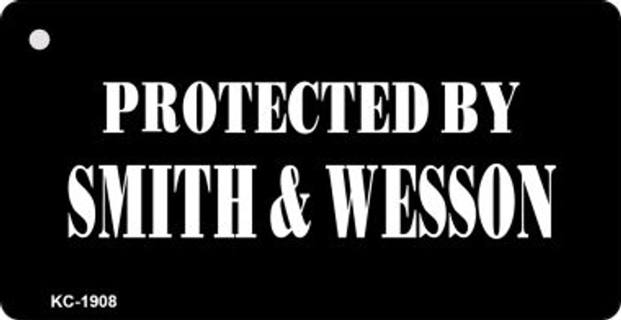 Protected By Smith & Wesson Wholesale Novelty Key Chain