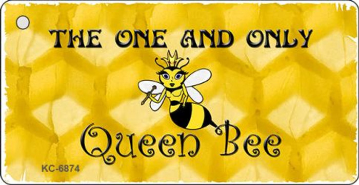 Queen Bee Yellow Wholesale Novelty Key Chain KC-6874