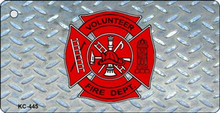 Volunteer Fire Diamond Wholesale Novelty Key Chain