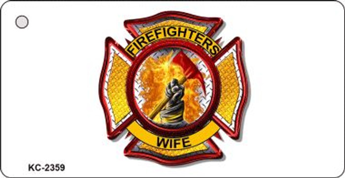 Firemens Wife Wholesale Novelty Key Chain